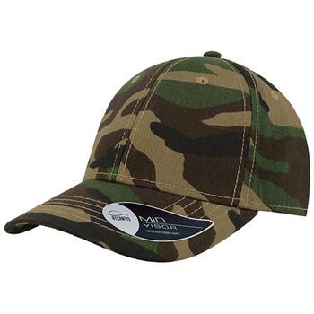 Camouflage - A6100 Pitcher Cap - Atlantis Headwear