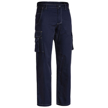 Navy - BPC6431 Cool Vented Lightweight Cargo Pants - Bisley