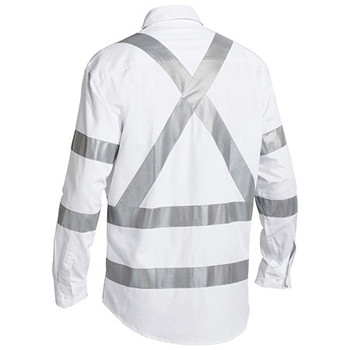 BS6807T Taped Night Cotton Drill Shirt - Bisley