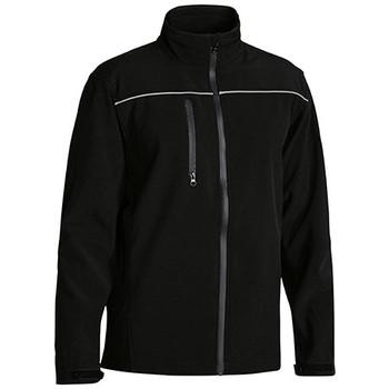BJ6060 - Mens Soft Shell Jacket - Black