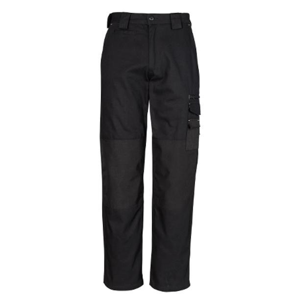 ZW005 - Mens Cordura® Duckweave Pant Black Front