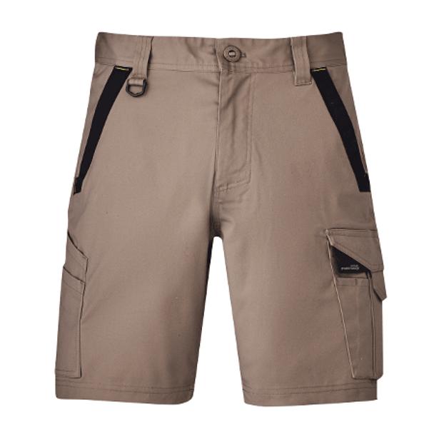 ZS550 - Mens Streetworx Tough Short Khaki Front