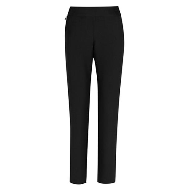 Black - CL041LL Womens Jane Ankle Length Stretch Pant - Biz Care