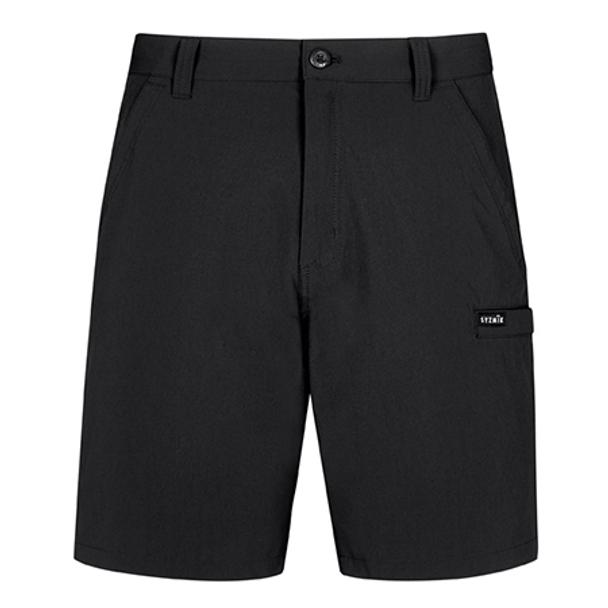 Black - ZS180 Mens Lightweight Outdoor Short - SYZMIK