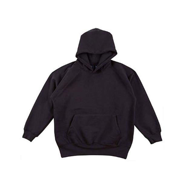 Black - FL07K Kids Warm Hug Fleece Hoodie - Winning Spirit
