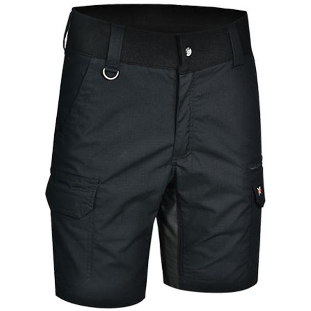 Black - WP25 Unisex Ripstop Stretch Work Shorts - Winning Spirit