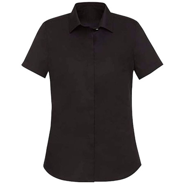 Black - RS968LS Womens Charlie S/S Shirt - Biz Corporates
