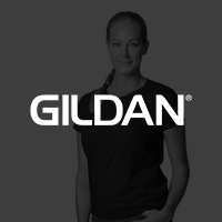 Gildan Size and measurement guide page.