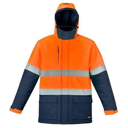 ZJ553 - Unisex Hi Vis Antarctic Softshell Taped Jacket