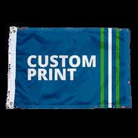 Custom 2'x3' Flags.
