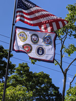 Armed Forces Flag Made in the U.S.A.