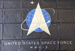 Official United States Space Force 3'x5' Flag Made in USA