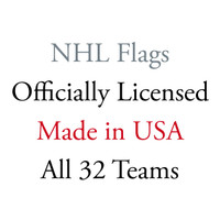 NHL Flags Officially Licensed Made in USA all 32 Teams