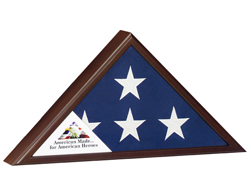 Veteran Flag Case: Cherry