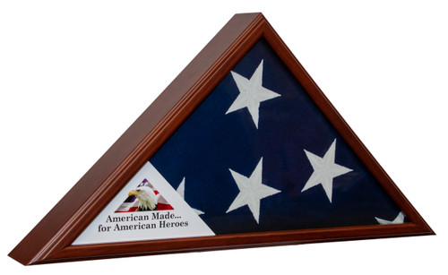 Liberty Flag Case Cherry Made in USA