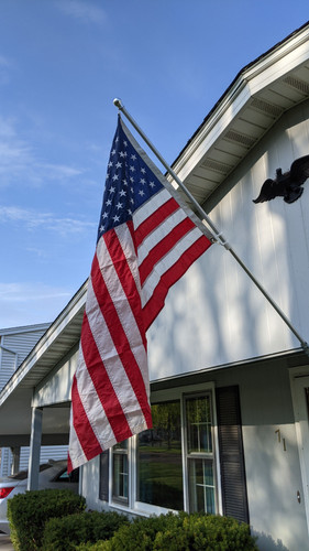 6' Patriot Flagpole Kit 100% Made in the USA