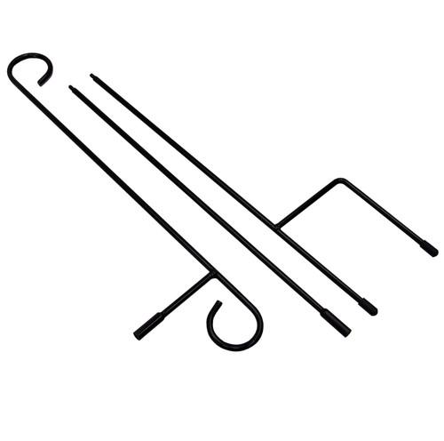 Garden Flag 3-Piece Stake/stand