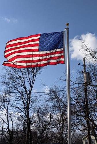 Flyin Glory Traditional Flagpole Made in USA