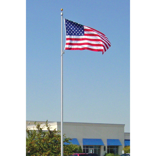 Commercial Grade Internal Halyard Flagpole-Made in USA