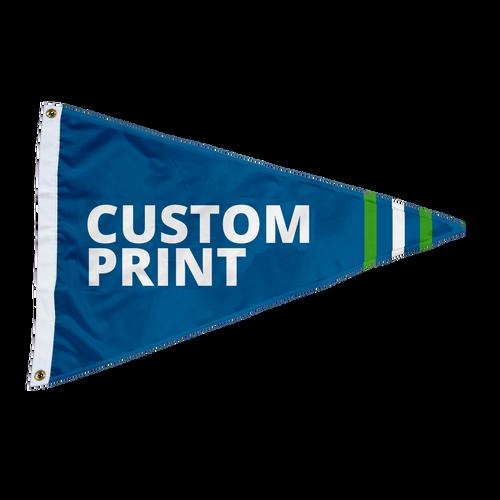 Custom 2'x3' Pennant Flag
