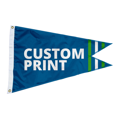 Custom 2'x3' Burgee Flag