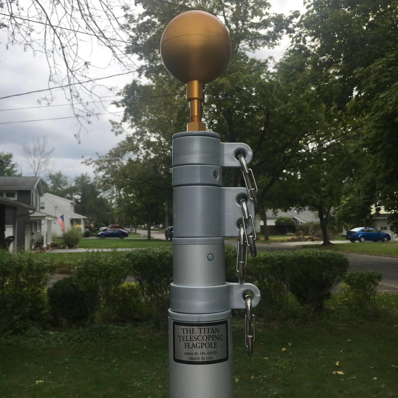 Titan Telescoping Flagpole-Made in USA