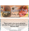 Father's Day Candy Wrapper Sample