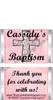 Mini Religious Girl Candy Bars Sample