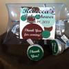 Green Polka Dot Hershey Kiss Pillow Pack