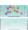 Birthday Balloons Candy Bars