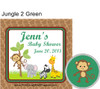 Jungle 2 Green Hershey Kiss Pillow Pack