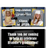 Black Graduation Candy Wrappers with Photos