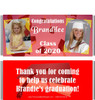 Red Graduation Candy Wrappers with Photos