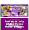 Purple Graduation Candy Wrappers with Photos
