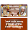 Brown Graduation Candy Wrappers with Photos