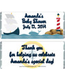 Nautical Baby Shower Candy Wrappers