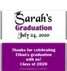Purple Graduation Chocolate Bars no Picture