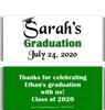 Green Graduation Chocolate Bars no Picture