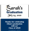 Dark Blue Graduation Chocolate Bars no Picture