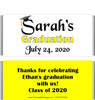 Yellow Graduation Chocolate Bars no Picture