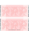 Pink Paisley Candy Bar Wrappers