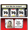 Slot Machine Party Favors with Picture