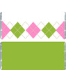 Pastel Plaid Candy Bar Wrappers