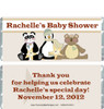 Stuffed Animals Candy Bar Wrappers Sample