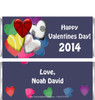 Valentine Sports Candy Bar Wrappers