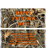 Camouflage Father's Day Candy Wrappers Sample