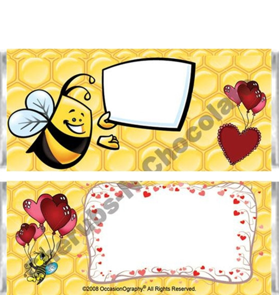 Bees Candy Wrappers