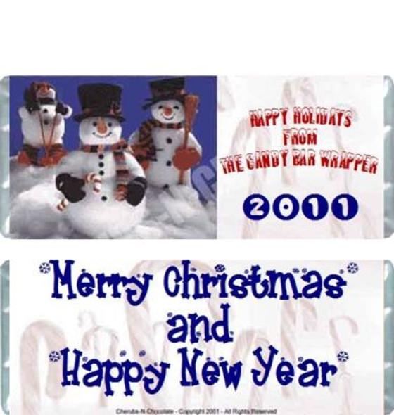 Snowmen Candy Wrapper