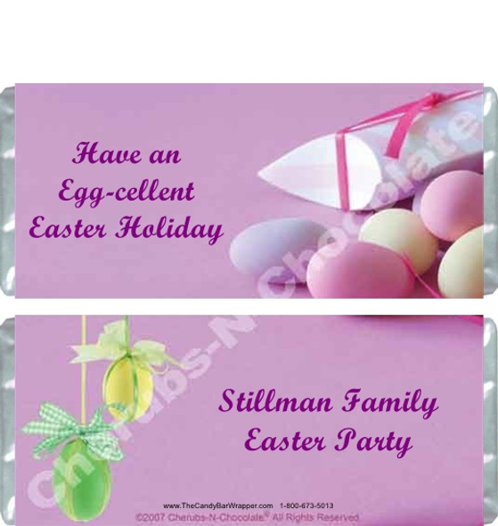 Easter Candy Wrappers Sample