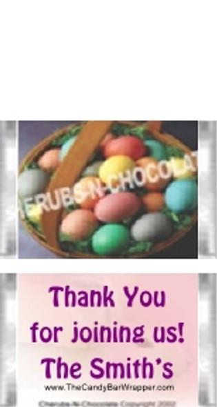 Mini Easter Candy Bars Sample